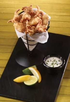 Flour Dusted Calamari